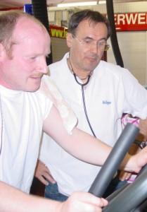 Leistungsdiagnostik Atemschutzgeräteträger